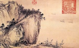 Oriental landscape paintings - Belle Oriental