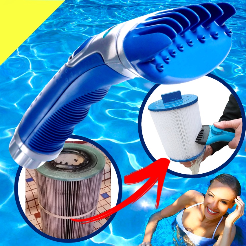 Swimming Pool Filter Cleaning : Premium swimming pool spa hot tub filter cartridge cleaner